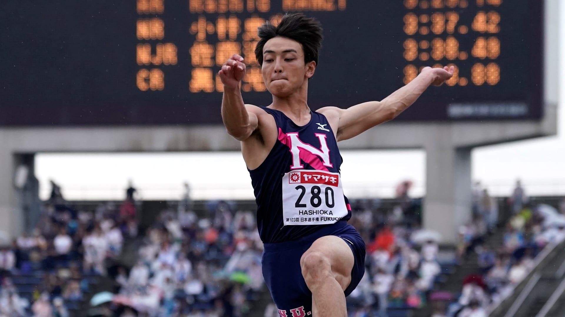 第89回日本学生陸上競技対校選手権大会・1日目結果:男子走り幅跳びは ...