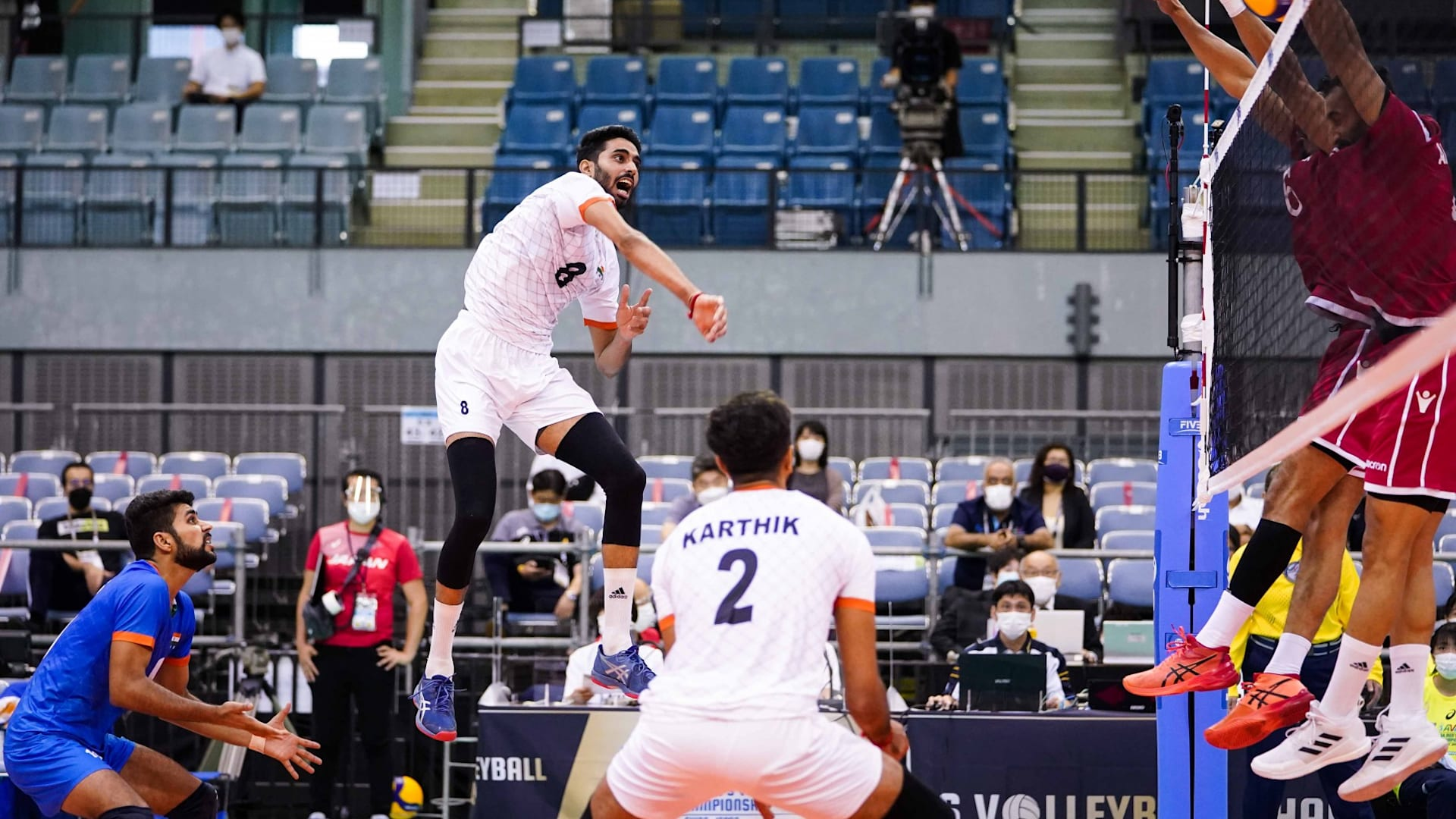 India lose to Bahrain in Asian volleyball championship 2021 opener