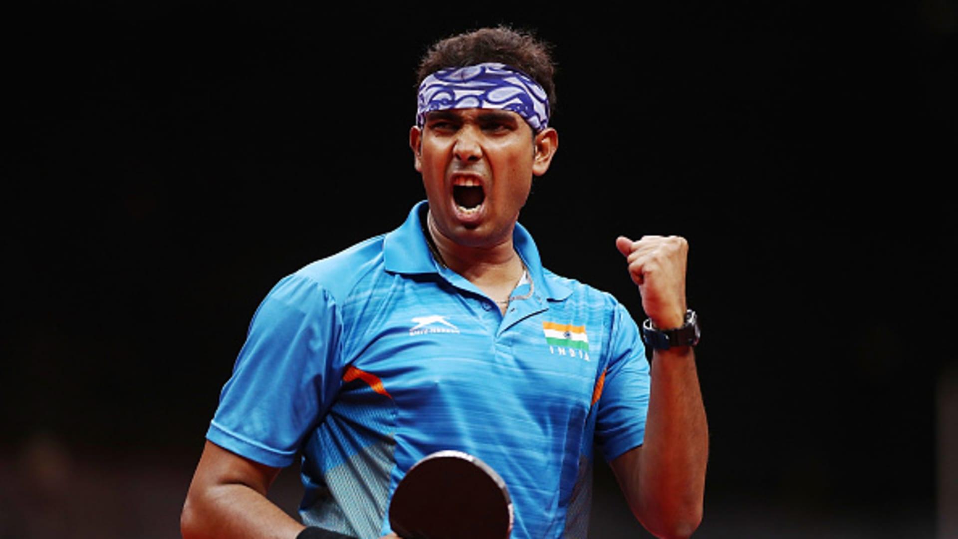 Sharath Kamal Achanta in Olympics