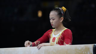 China's Chen Yile performs on balance beam at the 2019 World Championships (Photo: Olympic Channel)