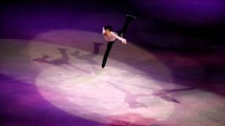 Japan's Yuzuru Hanyu performs during the gala exhibition. (REUTERS-Issei Kato)