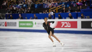 Evgenia Medvedeva skates her way to bronze at the World Championships