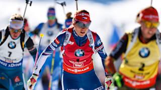 女子12.5公里集体出发 | IBU世界杯 - 鲁波尔丁
