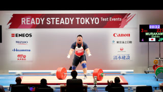 Men's Weightlifting  +109 kg