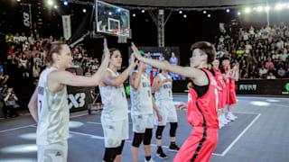 2日目 | FIBA 3x3アジアカップ - 長沙