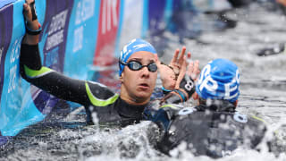 オープンウォータースイミング5kmチームリレー|競泳-FINA世界選手権-光州