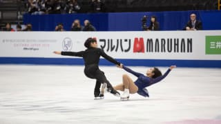 Sui Wenjing and Han Cong perform their pairs free skate