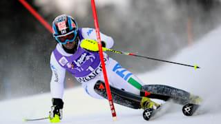 Men's Slalom - Run 1 | FIS World Cup - Wengen