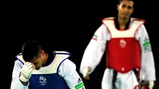 Pita after losing first round bout in Taekwondo at Rio 2016