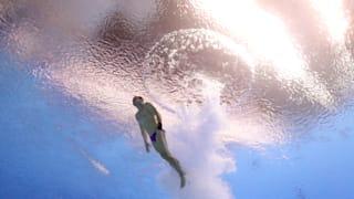 Evgenii Kuznetsov of Russia competes in the Men's 3m Springboard Semifinal on day six of the Gwangju 2019 FINA World Championships at Nambu International Aquatics Centre on July 17, 2019 in Gwangju, South Korea. (Photo by Catherine Ivill/Getty Images)