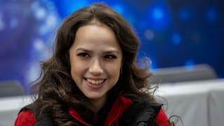 Women's world champion Alina Zagitova