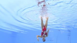 Yukiko Inui of Japan competes in the Solo Free Final on day six of the Gwangju 2019 FINA World Championships at Yeomju Gymnasium on July 17, 2019 in Gwangju, South Korea. (Photo by Maddie Meyer/Getty Images)