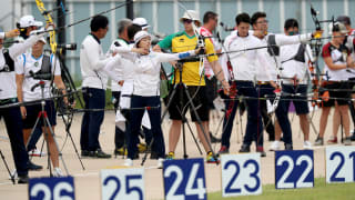Mixed Team Practice Sessions, Quota Finals, Bronze and Gold Match