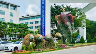 Chosun University high diving venue