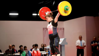 Women's Weightlifting 87 kg, +87 kg