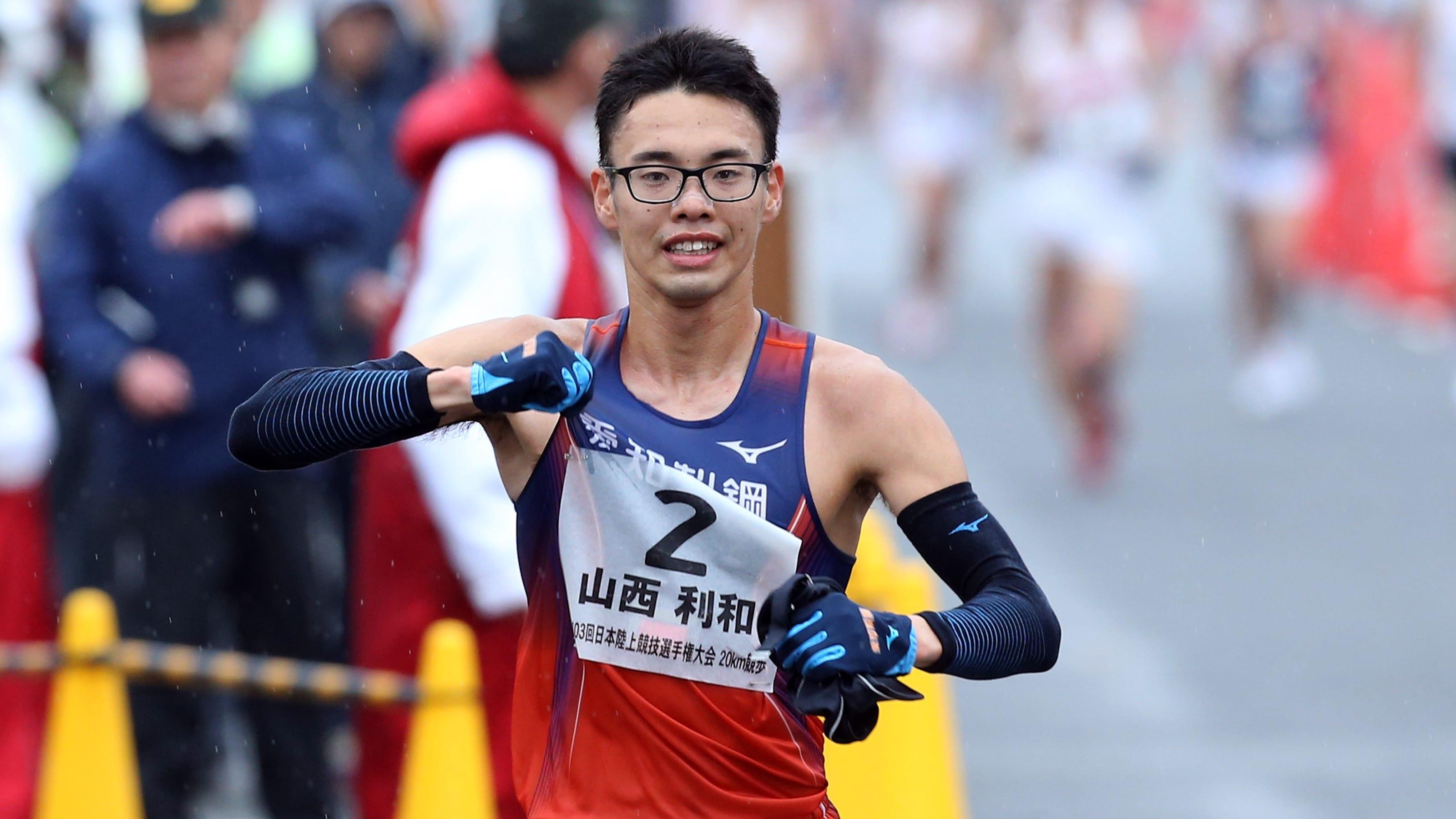 全日本実業団対抗陸上競技選手権2日目:競歩5000mで山西利和が日本 ...