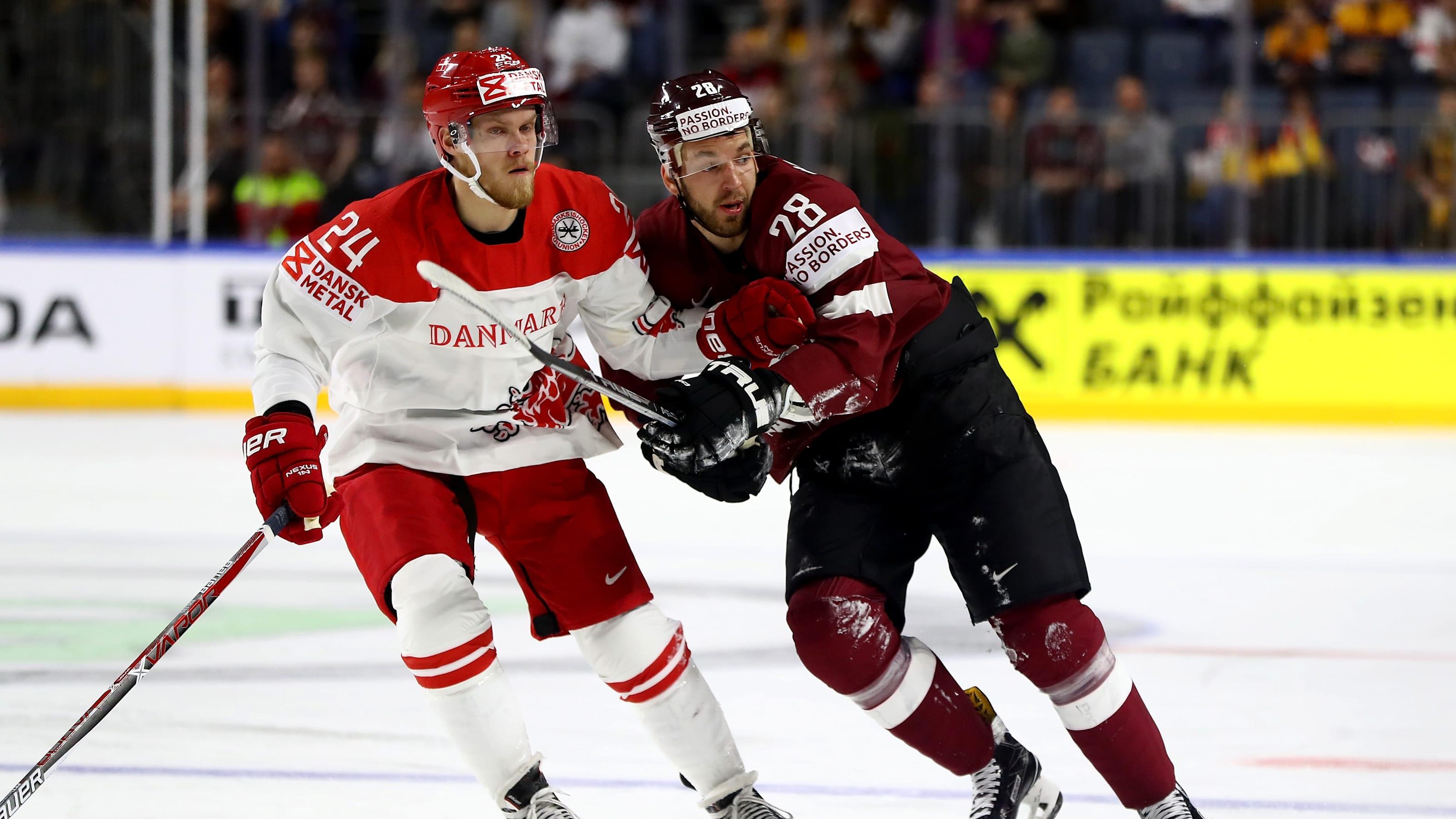 Ice Hockey at Beijing 2022: Latvia, Denmark and Slovakia secure last  Olympic spots