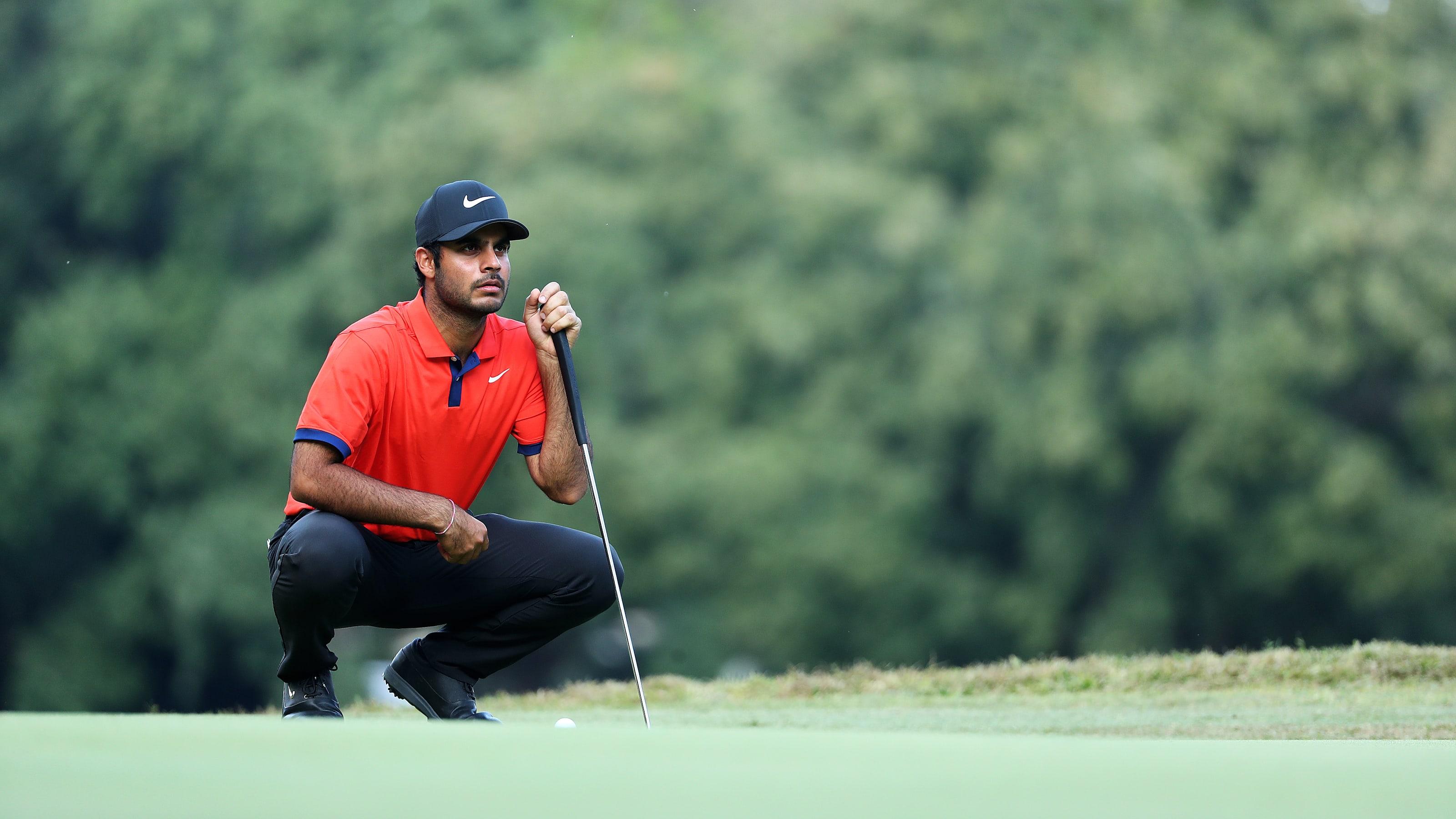 Indian golfer Shubhankar Sharma ups his game during lockdown