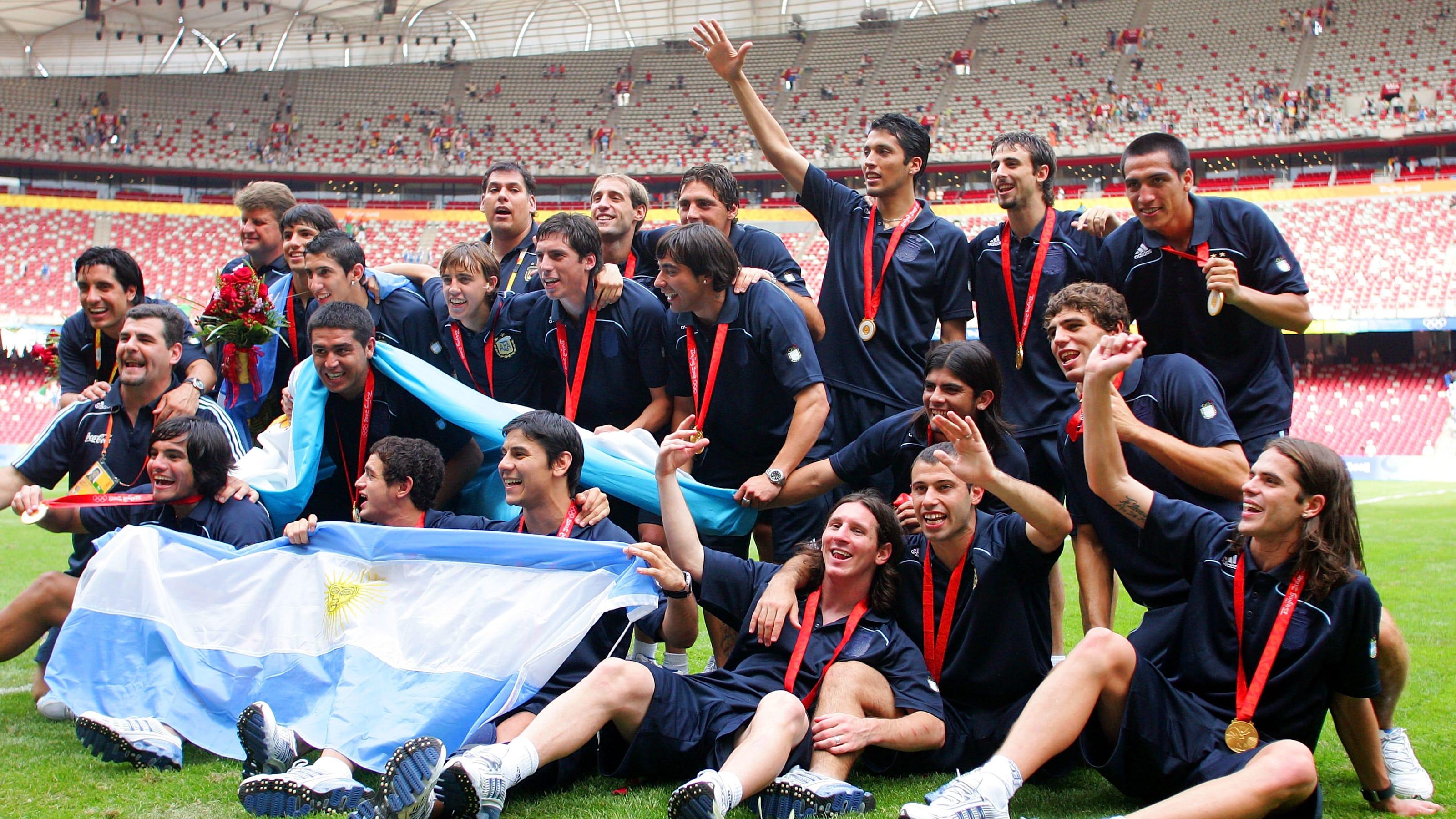 dónde están los futbolistas olímpicos de Argentina 12 años después Pekín 2008?
