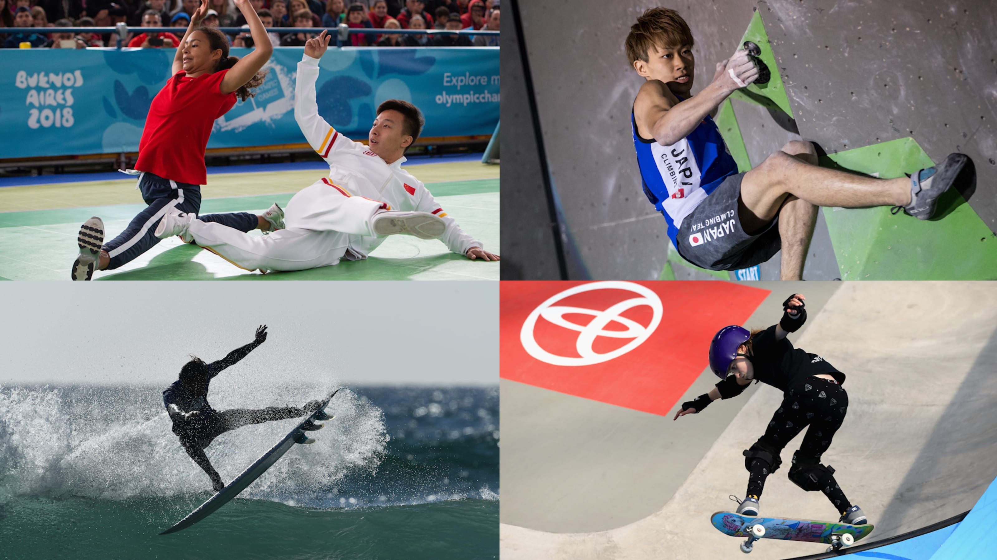 Breaking and three other sports confirmed for Paris 20
