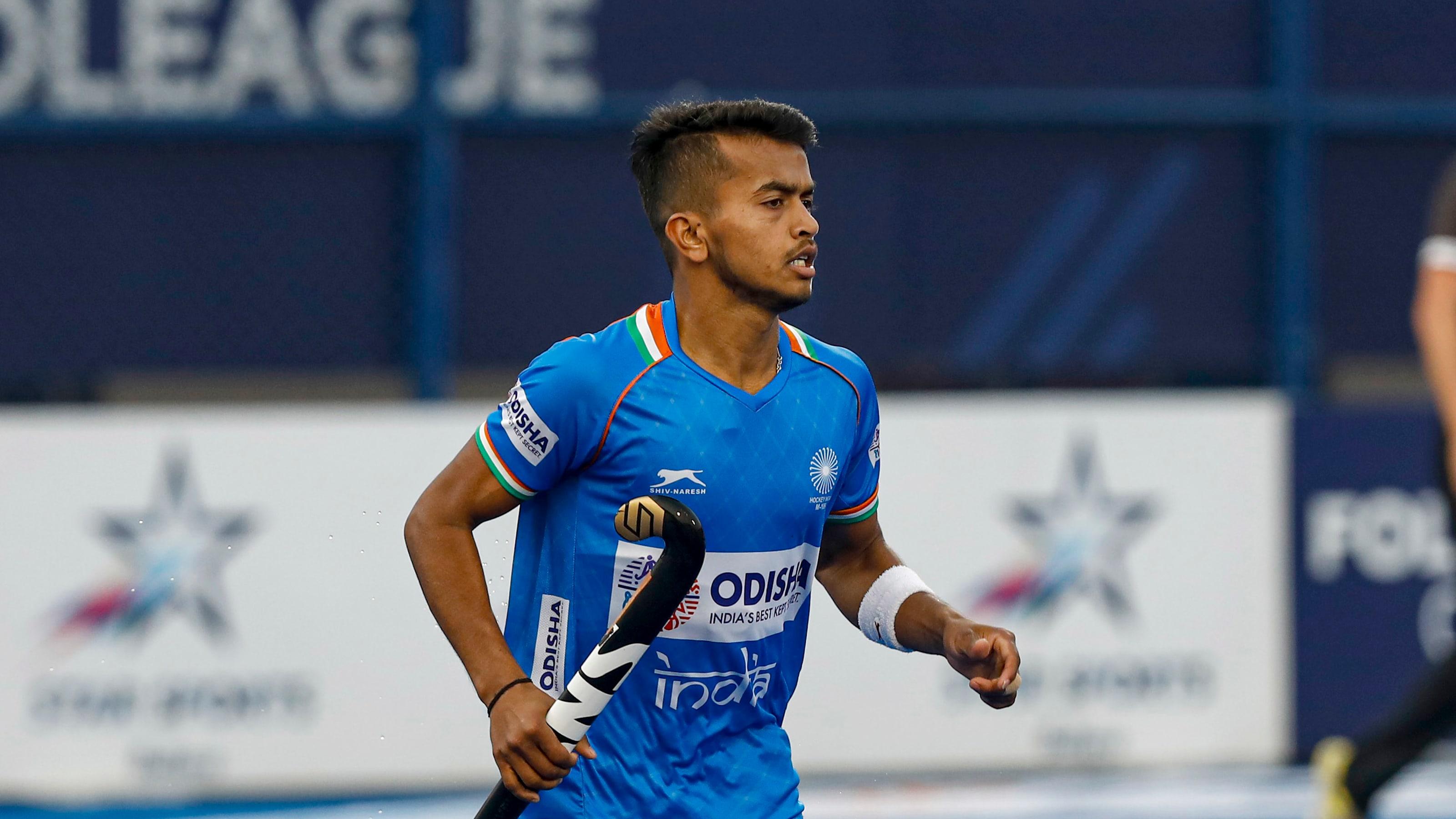 Indian hockey midfielder Vivek Sagar Prasad is FIH Rising Star of the Year