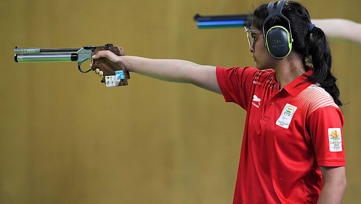 Manu Bhaker is a prime medal contender among the Indian shooting contingent that has qualified for Tokyo