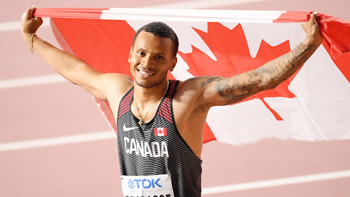 Andre De Grasse confident best yet to come ahead of Tokyo Olympics