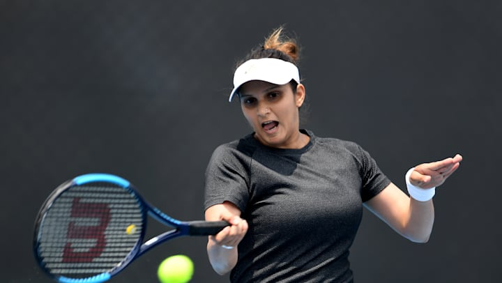 Sania Mirza talks singles training, forehand techniques with Sunil Chhetri