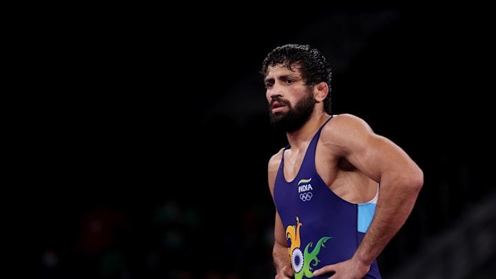 Ravi Dahiya marches into Tokyo Olympics wrestling gold medal match