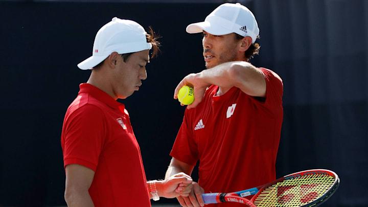 【7月26日】東京五輪・男子テニスの放送予定 ダブルス2回戦に錦織圭/マクラクラン勉ペアが登場
