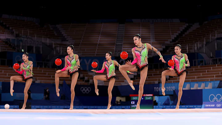 8月8日】東京五輪・新体操の放送予定 日本代表・フェアリージャパン、