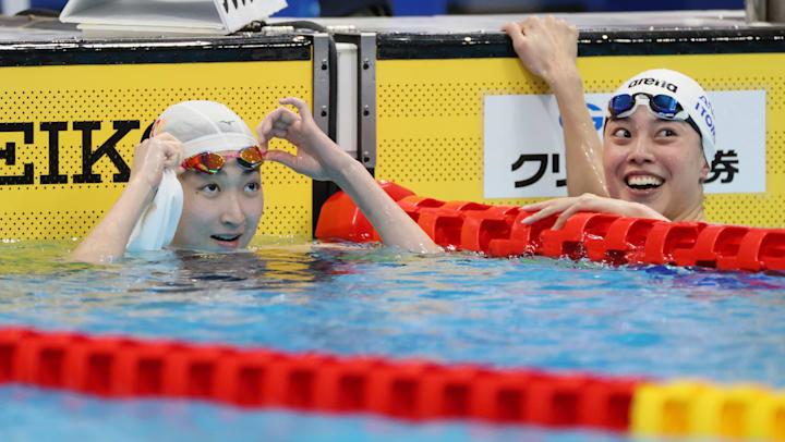 7月24日】東京五輪競泳競技・女子4×100mフリーリレー予選の放送