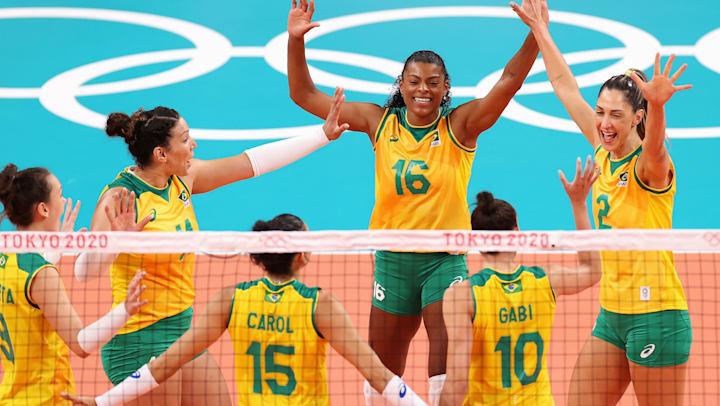 Brasil E Roc Em Uma Previa Das Quartas De Final Do Volei Feminino