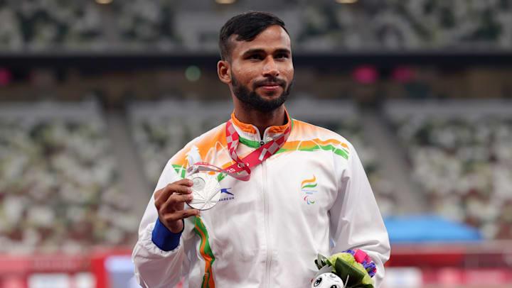 India's Praveen Kumar wins silver in high jump T64 at Tokyo Paralympics