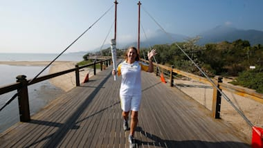 Olympic Torch Relay arrives in Rio de Janeiro