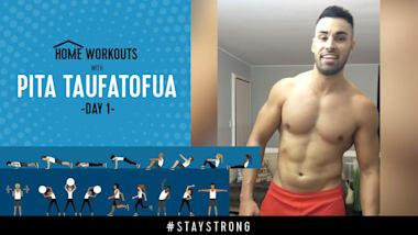 Тренировка с Питой Тауфатофуа на Olympic Channel - День 1