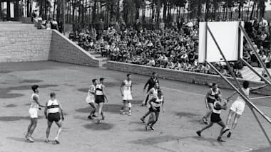Olympic basketball's muddy beginnings