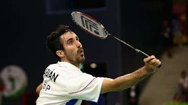Pablo Abian, pionnier du badminton en Espagne avant Carolina Marín