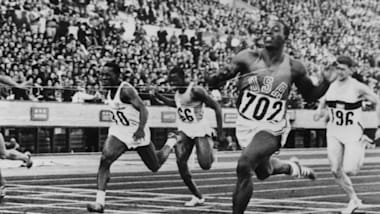 "The men's 100m final at Tokyo 1964 and victory for ""Bullet"" Bob Hayes"