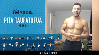 Тренировка с Питой Тауфатофуа на Olympic Channel - День 3