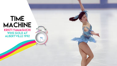 Time Machine: Kristi Yamaguchi Wins Gold at Albertville 1992