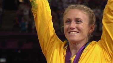 La championne olympique Sally Pearson: C'est la personne que je veux être