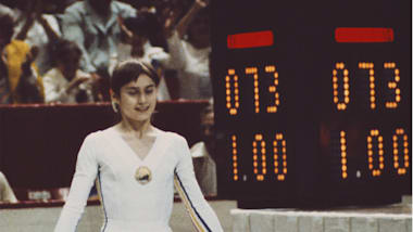 Snapped: reflections and revelations on Comaneci's perfect 10