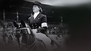 Linsenhoff becomes first woman to win dressage gold