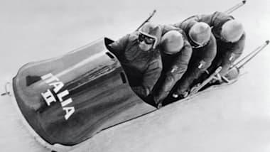 À partir du 8 février 1968 à Grenoble, le plus grand rêve d'Eugenio Monti devient réalité !