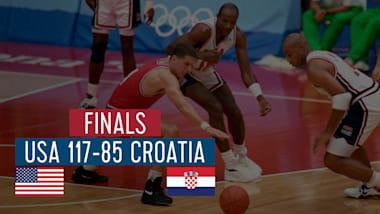 """США - Хорватия (финал)   """"Дрим-тим"""" в Барселоне-92"""