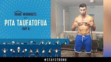 Тренировка с Питой Тауфатофуа на Olympic Channel - День 6