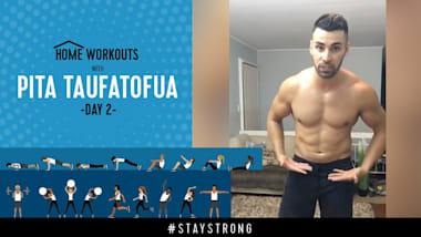 Тренировка с Питой Тауфатофуа на Olympic Channel - День 2