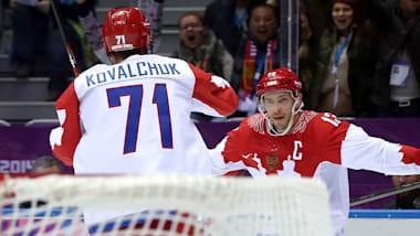 Ice hockey veterans lead OAR contingent