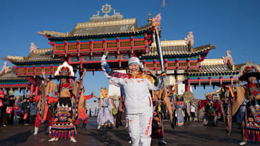 Olympic champions among Torchbearers as Sochi 2014 Torch relay continues